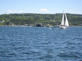 Ubåt ved Drøbak